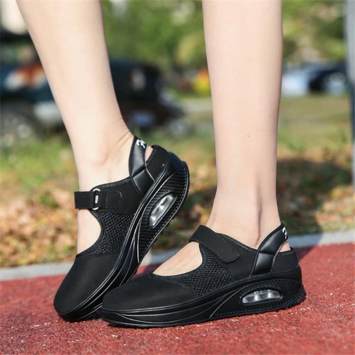 Plus Couleur Lger Poids Femme blanc Rouge Luxesuprieure noir De Marque Antidrapant Baskets Chaussures Sneakers Fashion 0t4qFxw0X