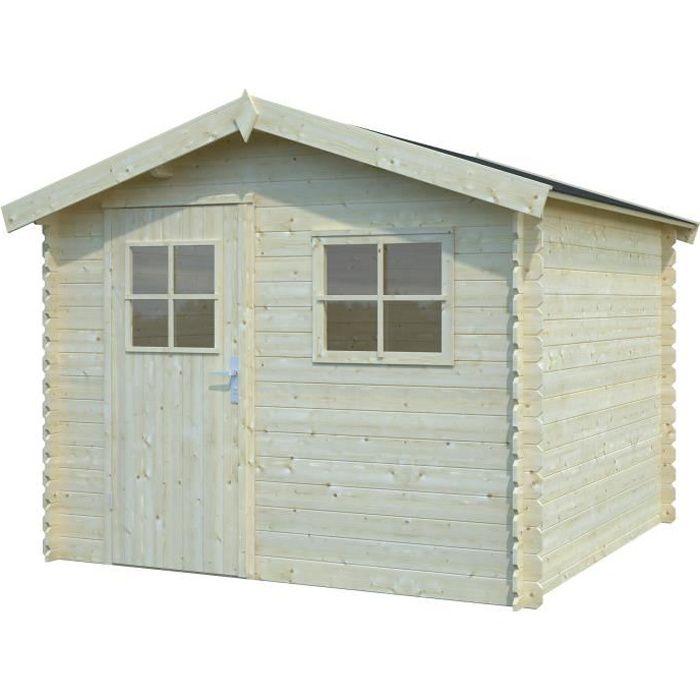 abri en bois achat vente abri en bois pas cher soldes d s le 10 janvier cdiscount. Black Bedroom Furniture Sets. Home Design Ideas