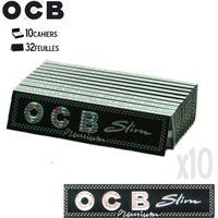 FEUILLE À ROULER 10 Carnets OCB Slim Premium