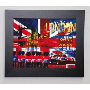 LE MARKEE Image encadrée The Spirit Of London 31x37 cm Multicolore