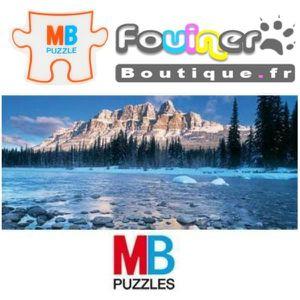 PUZZLE Jouet Puzzle MB Panoramique 1000 pcs Parc national