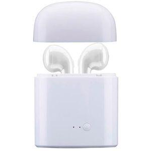 CASQUE - ÉCOUTEURS Casque stéréo sans fil de Mini I7 Bluetooth écoute