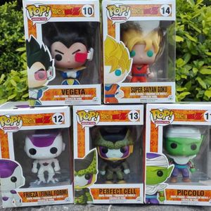 FIGURINE - PERSONNAGE Ding 5PCS Funko Pop! Figurine DRAGON BALL Z Jouets