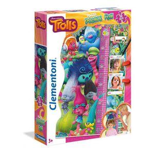 PUZZLE Trolls - Puzzle 30 Pièces Maxi Double Fun (Puzzle+