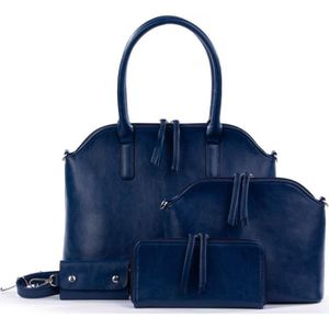 SAC À MAIN Set de sacs bleus marine - Sac à main + sac à band