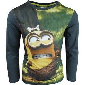 T-SHIRT Despicable Me Minions T-Shirts à manches longues G