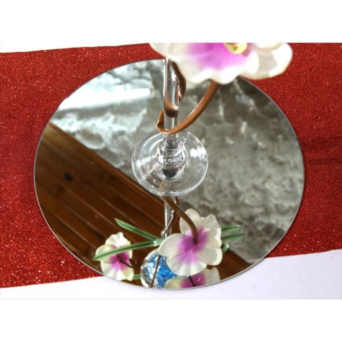 Miroir centre de table achat vente miroir centre de for Miroir bombe rond