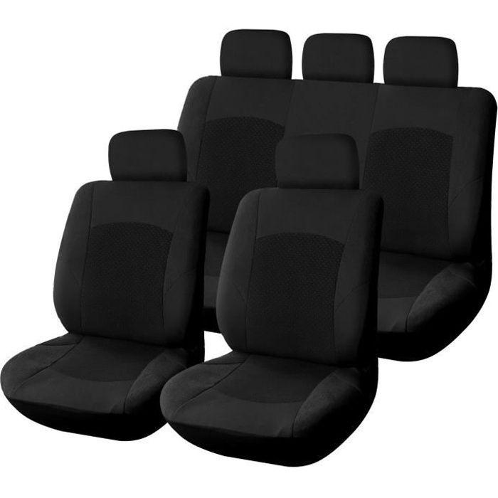 housse pour siege voiture velours noir epaisse achat vente housse de si ge housse pour siege. Black Bedroom Furniture Sets. Home Design Ideas
