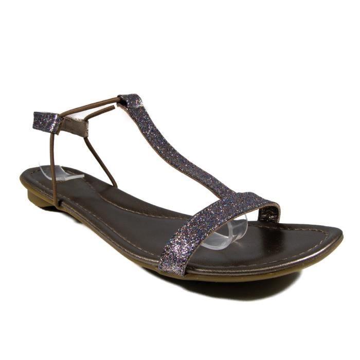 Sandales en cuir Femme SMS - MARKETA cXTCSNAloy