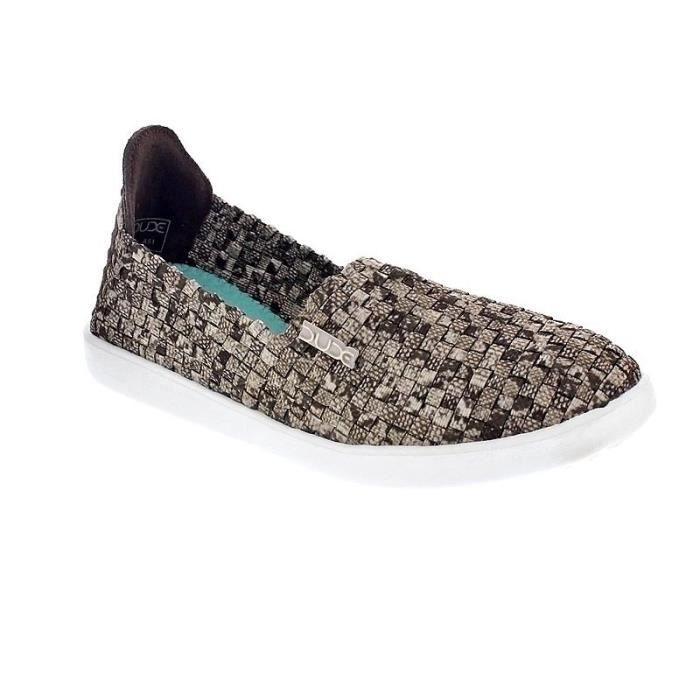 Chaussures Dude FemmeMocassins modèle E-Last Simple
