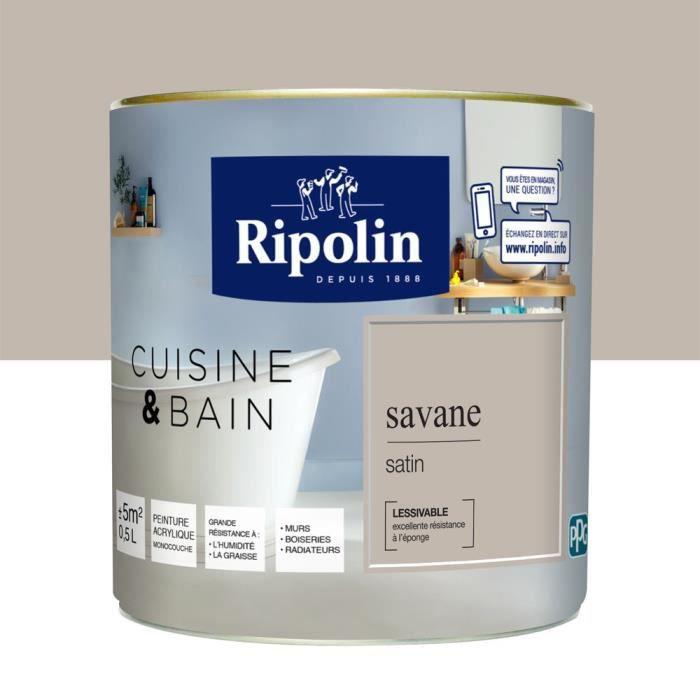 PEINTURE   VERNIS RIPOLIN Peinture Murale Spéciale Cuisine U0026 Bain