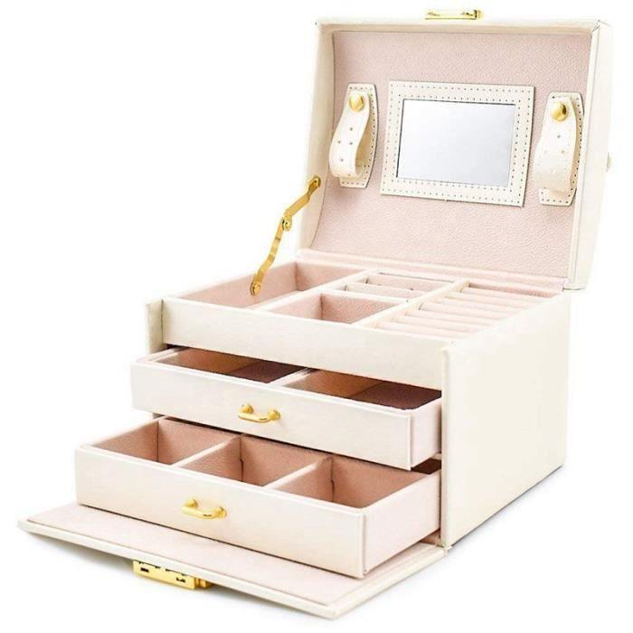 BOITE A BIJOUX Boite a bijoux Mallette/coffrets/boite a maquillag