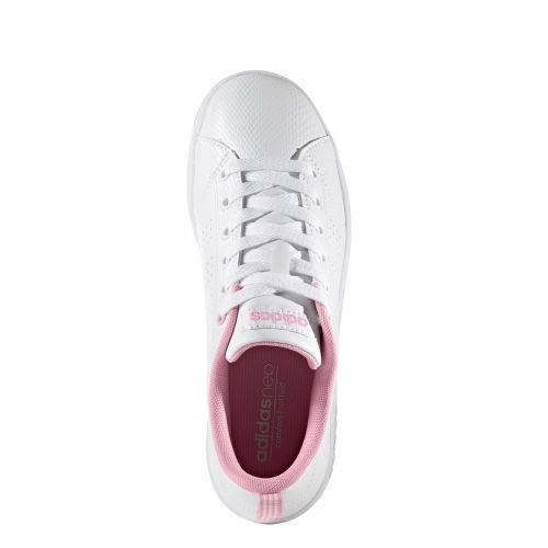 Adidas - ADIDAS NEO - baskets fille advantage clean blanche - (blanc - 38 2/3)