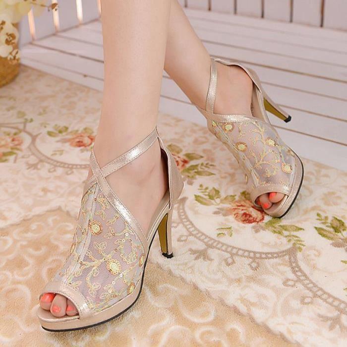 Talons Mode Femme Chaussures Escarpins Chaussures à talons hauts femmes Pumps Chaussures de mariage Chaussures sexy de mode