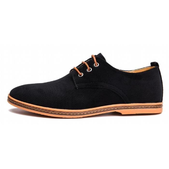 Les hommes occasionnels Oxford Dress Shoes OEIF8 Taille-39 1-2