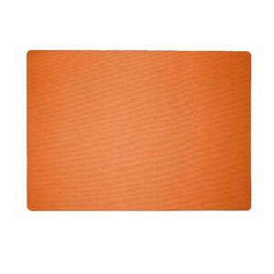 Lot de 4 Sets de table textile 43x30 cm Orange