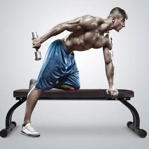 BANC DE MUSCULATION Banc de Fitness de musculation Pieds pliables de g