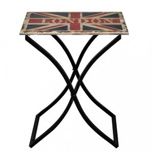 TABLE BASSE Magnifique Table basse en bois antique / design dr