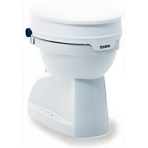 RÉHAUSSEUR TOILETTES  Rehausseur de toilettes avec couvercle Aquatec AT9