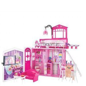 MAISON POUPÉE Maison Glamour Barbie + mobilier