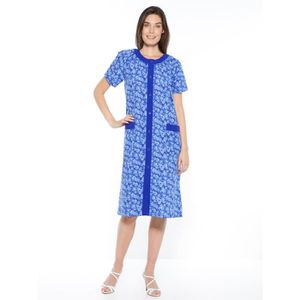 ROBE Tablier forme housse, manches