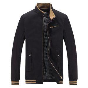MANTEAU - CABAN Les hommes d hiver chaud Veste Pardessus Outwear S ... 4321712b0ed
