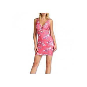 e475d8cdbe ROBE Guess Robe Femme MALICA Rose W92K0P - Taille - M