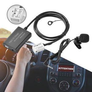 HAUT-PARLEUR - MICRO Adaptateur de changeur CD numérique pour voiture R