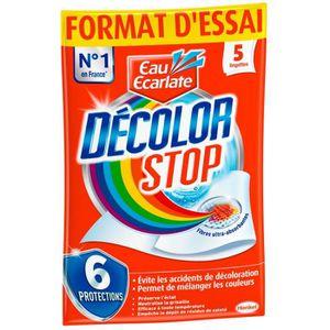 ANTI-DECOLORATION EAU ECARLATE Lingettes anti-decoloration linge Dec