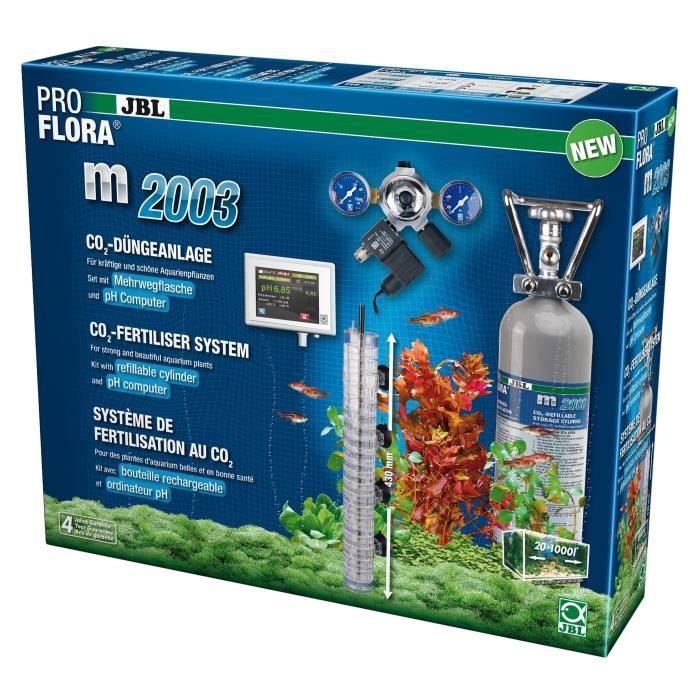 JBL Système de fertilisation au CO2 Proflora M2003 - Pour plantes d'aquarium