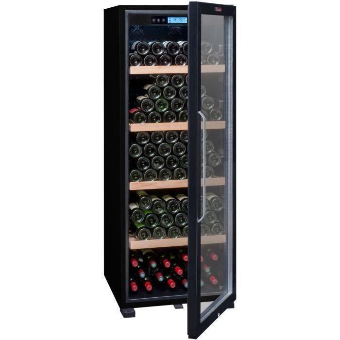LA SOMMELIERE CTVNE186A -Cave à vin de vieillissement - 194 bouteilles - A - Porte Vitrée -  L 59.5