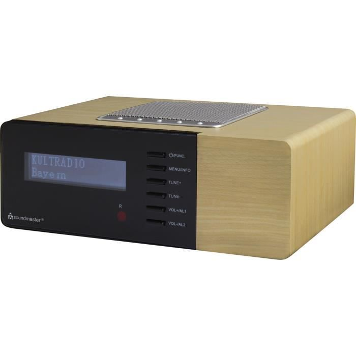SOUDMASTER UR180HBR Radio réveil DAB + / FM PLL