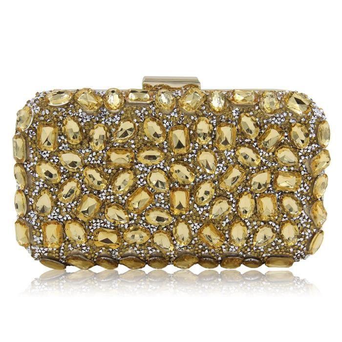Soirée KDZ5P la de bandoulière dembrayage Sacs chaîne Bourse à main à Diamond sac Lady wnax6TR