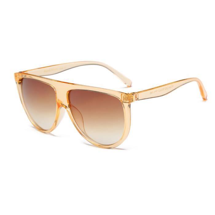 gris Mode unisexe de lunettes An Lunettes Vintage mode mince de Aviator soleil Shaded 1173 46pnqwFfO