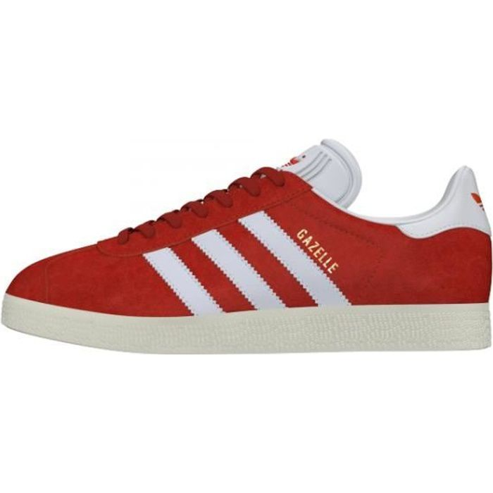Basket ADIDAS GAZELLE - Age - ADULTE, Couleur - ROUGE, Genre - HOMME