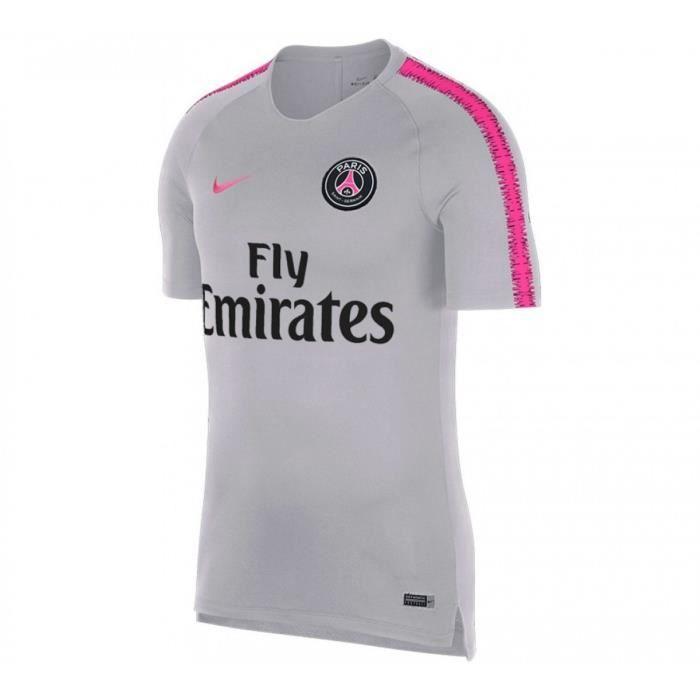 Maillot d'entraînement Nike Paris Saint-Germain Breathe ...