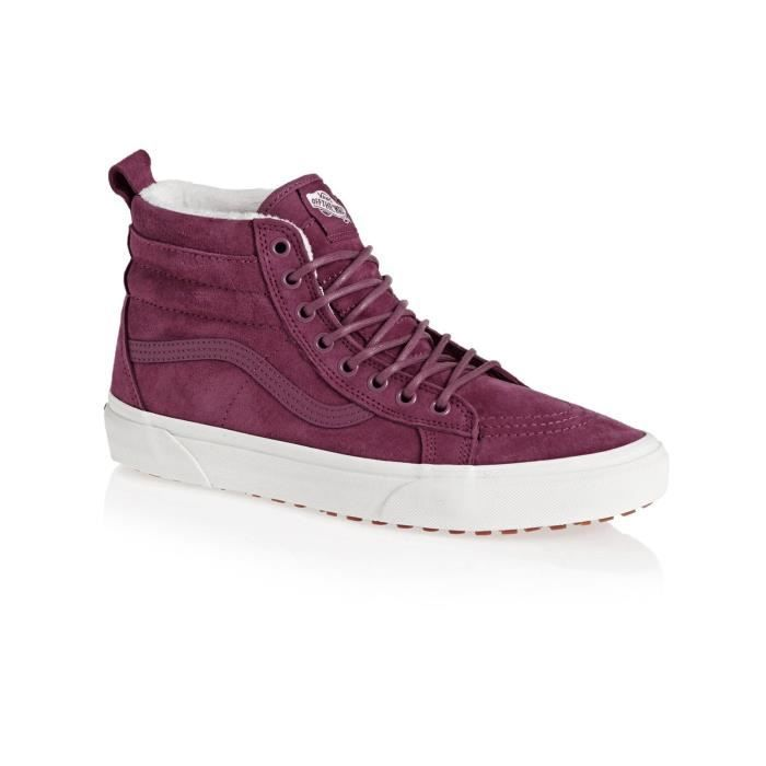 Rose Lined Vans Sk8 Dry Mte hiSherpa marshmallow Chaussure 0k8nwXPNO