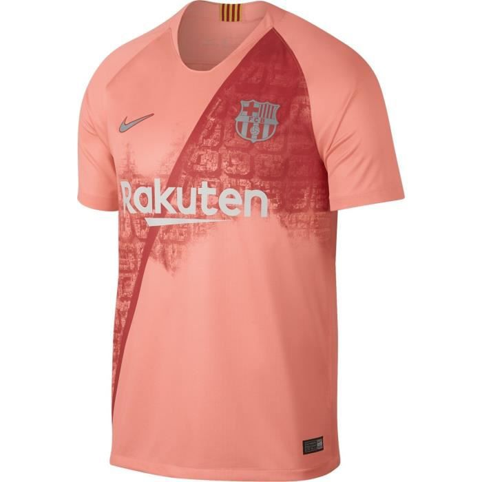 1d7cbfadd Maillot Nike Maillot Barcelone Third 2018-19 Rose Homme - Prix pas ...