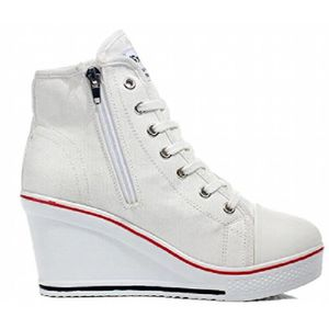 chaussures multisport en toile Girl Zipper Classic High Baskets montantes 9838500 1ZfCJezQ