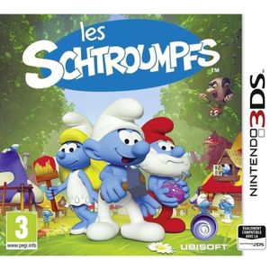 JEU 3DS Les Schroumpfs Jeu 3DS