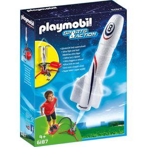 PLAYMOBIL 6187 Fusée avec plateforme de lancement