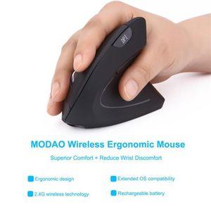 SOURIS 2.4 g souris optique ergonomique verticale sans fi