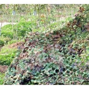 FILET ANTI-CHUTE Filet de Camouflage militaire Woodlands feuille 4