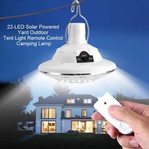 AMPOULE - LED Lampe solaire de contrôle à distance à 22 LED ampo
