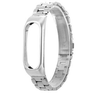 BRACELET DE MONTRE Bracelet ®Pour Xiaomi Mi Band 2 Bracelet en acier