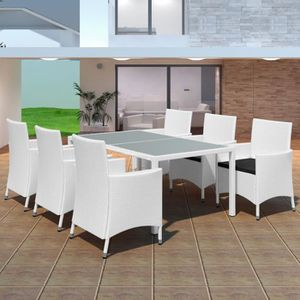 Mobilier de jardin blanc - Achat / Vente Mobilier de jardin blanc ...