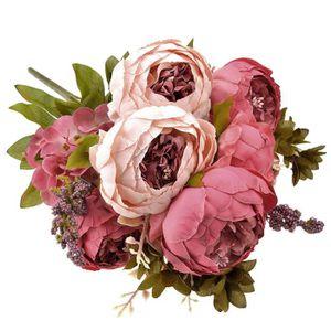 Bouquet pivoines artificielles achat vente bouquet for Soldes fleurs artificielles