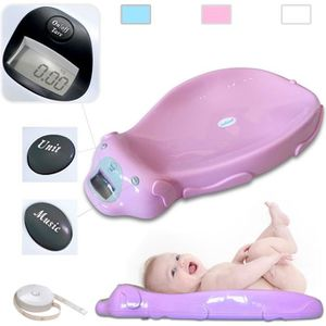 PÈSE-BÉBÉ Pèse Bébé, Balance Éléctrique pour Bébé, Rose, Dim