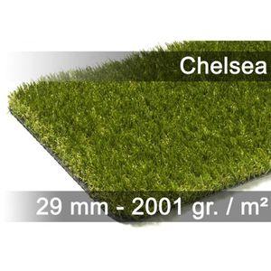 GAZON ARTIFICIEL Chelsea - tapis type luxe gazon artificiel – pour