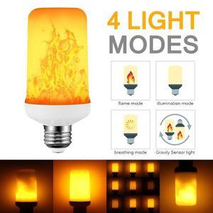 AMPOULE - LED Ampoule LED Flamme 7W E27 Flamme Brûlant Ampoule L